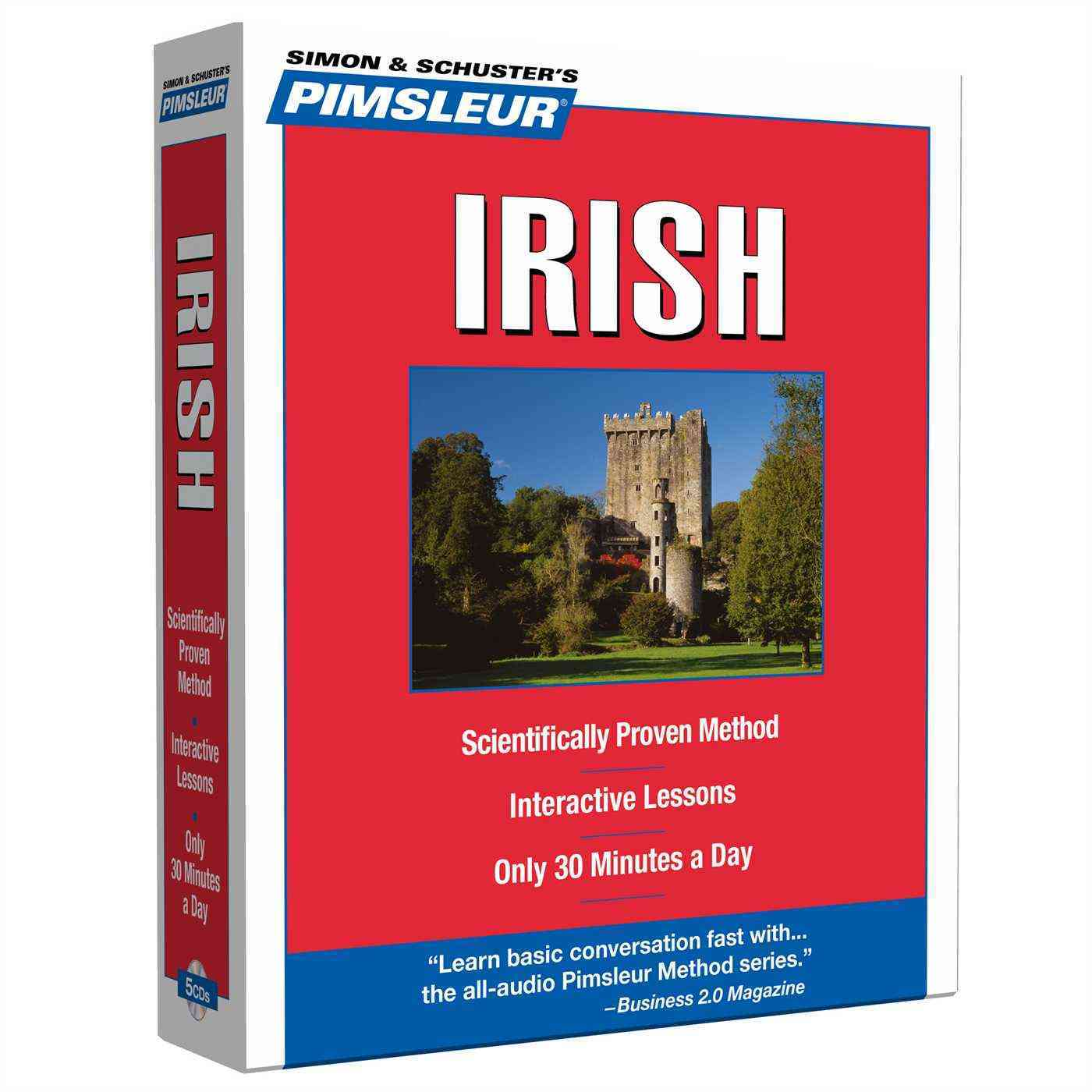[CD] Pimsleur Irish By Pimsleur Language Programs
