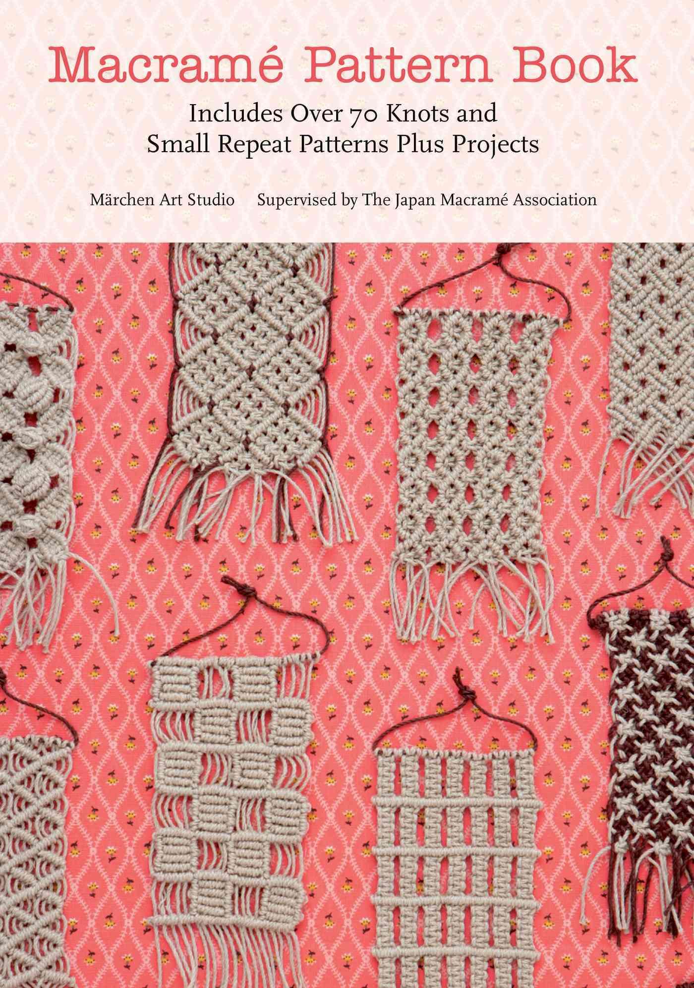 Macrame Pattern Book By Marchen Art